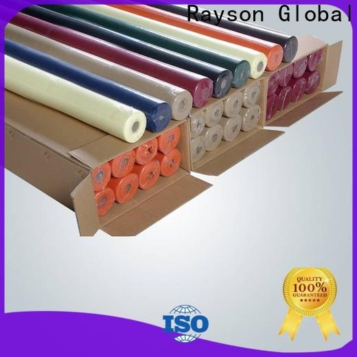 Rayson nonwoven, ruixin, enviro 50gsm nonwoven endüstrisi doğrudan ev için satış