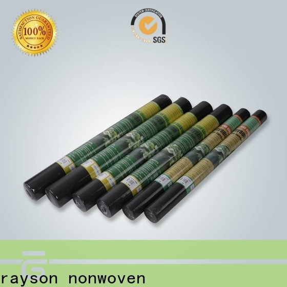 rayson nonwoven organic landscape fabric large rolls supplier for outdoor
