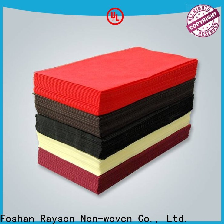 कपड़े के लिए अच्छी कीमत के साथ रेसन नॉनोवेन 45gr गैर बुना कपड़ा रोल