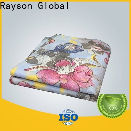 rayson nonwoven biodegradable printed table covers inquire now for party