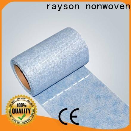 Rayson rollo no tejido fábrica de ropa no tejida para el hogar
