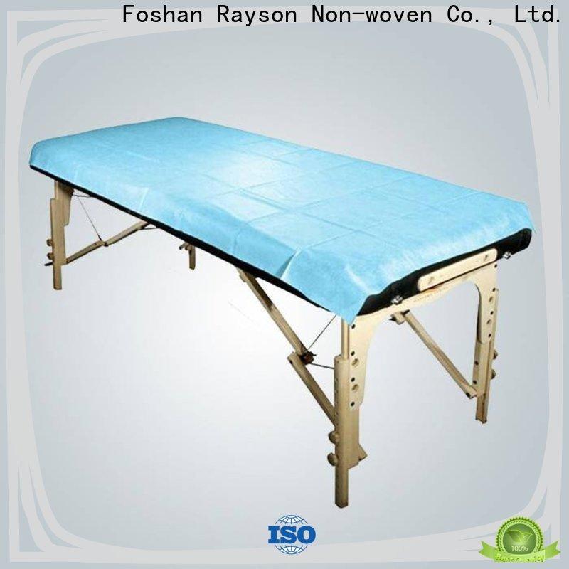 Rayos no tejidos diferentes fábrica de textiles no tejidos para sábanas