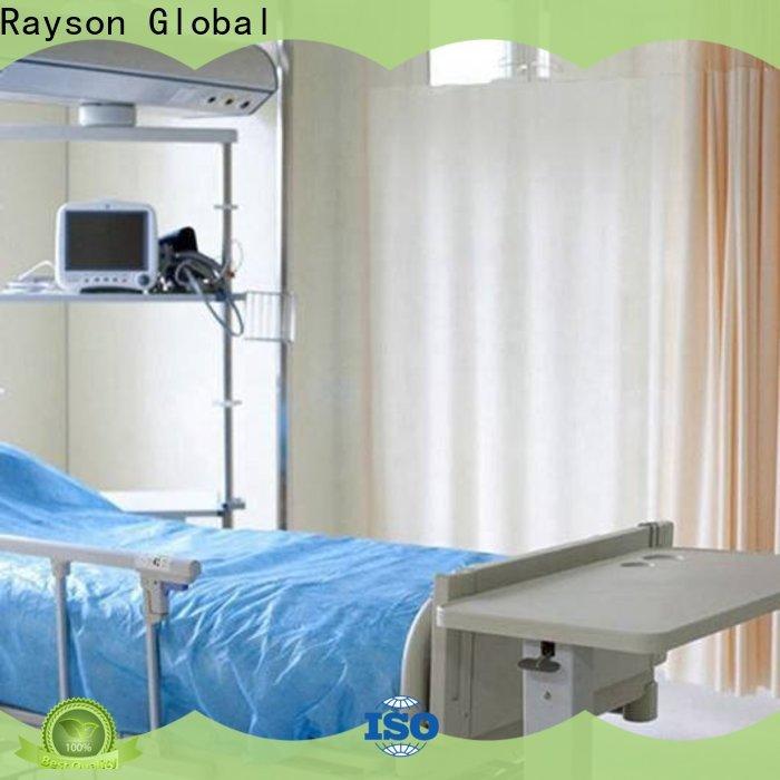 hoja de tela no tejida que encera no tejida del rayson personalizada para el hogar