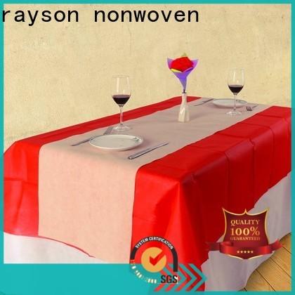 ev için kişiselleştirilmiş rayson nonwoven düğün kumaş malzemesi