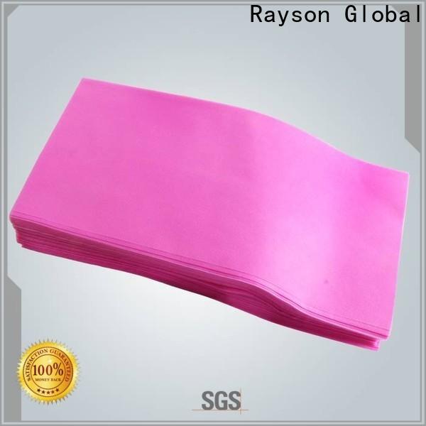 yatak odası için kişiselleştirilmiş rayson nonwoven antibakteriyel nonwoven ürünler