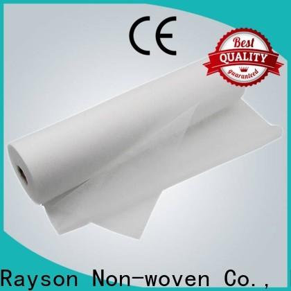 Los productos no tejidos desechables desechables no tejidos de rayson se venden directamente para la sábana