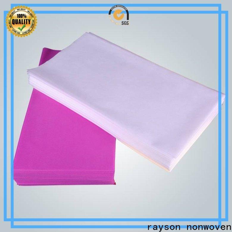 rayson غير منسوج بيوتي قماش غير منسوج يستخدم في سلسلة الزراعة لغرفة النوم
