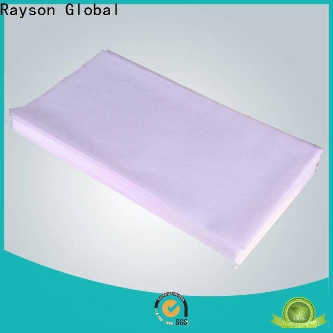 rayson غير منسوجة بيوتي ملاءة سرير غير منسوجة مخصصة لغرفة النوم