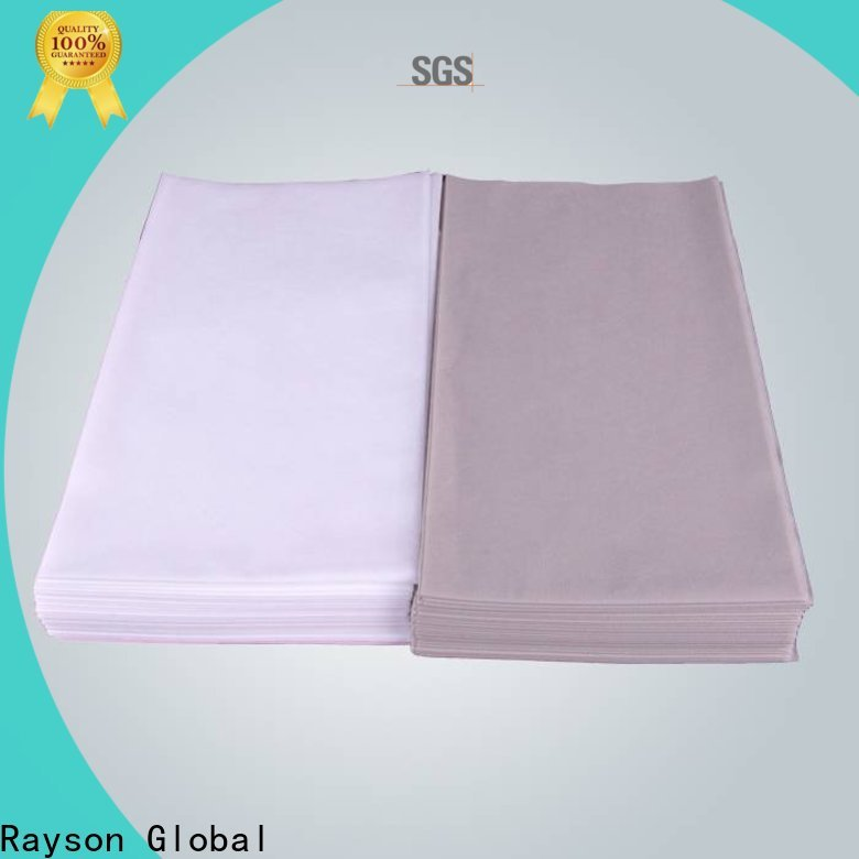 serie de tela no tejida disponible individual no tejida de rayson para el hogar