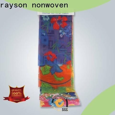 rayon nonwoven biodegradable fabricante de material de polipropileno no tejido para mantel