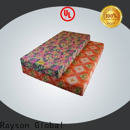 OEM cost of non woven fabric roll foam manufacturer for tablecloth