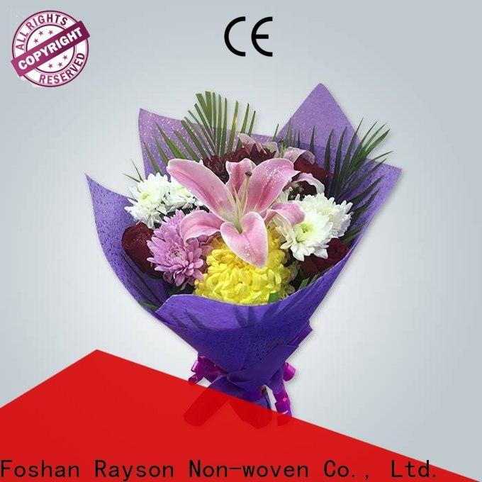 Rayson nonwoven Ambalaj için özel nonwoven kumaş makinesi fiyatı