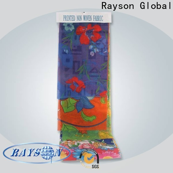 rayson nonwoven round cost of non woven fabric roll price for bedding