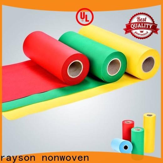 Rayson nonwoven Toptan yuvarlak masa örtüleri dükkan için İngiltere fiyatı