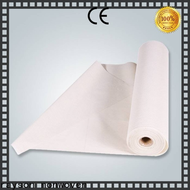 rayson nonwoven recyclable non woven cloth manufacturers price for slipper