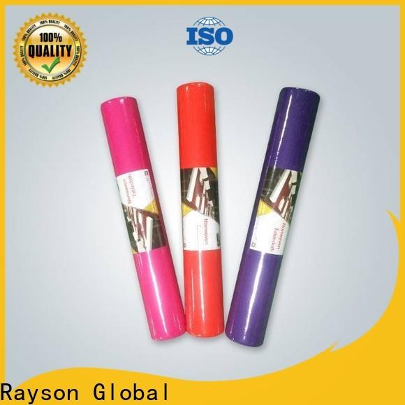 Proveedor de rollos de tela no tejida OEM no tejida de rayson