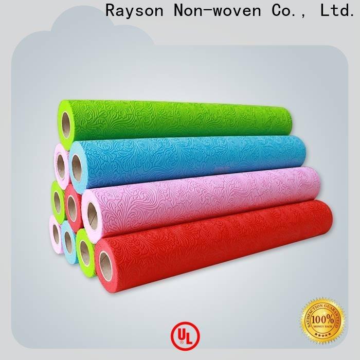 rayson غير منسوجة 20g مورد أقمشة غير منسوجة للتغليف