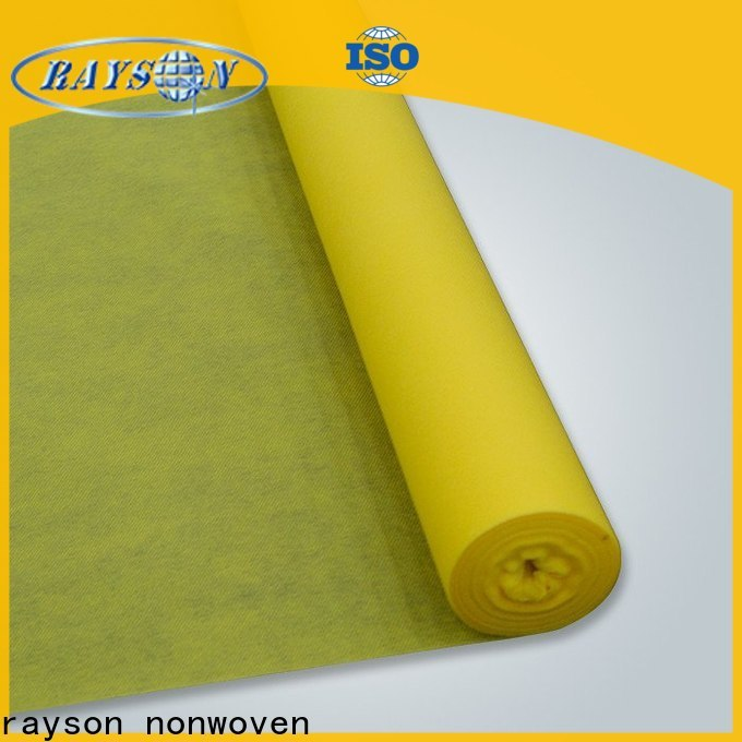 Rayson types of non woven fabrics base manufacturer for bags