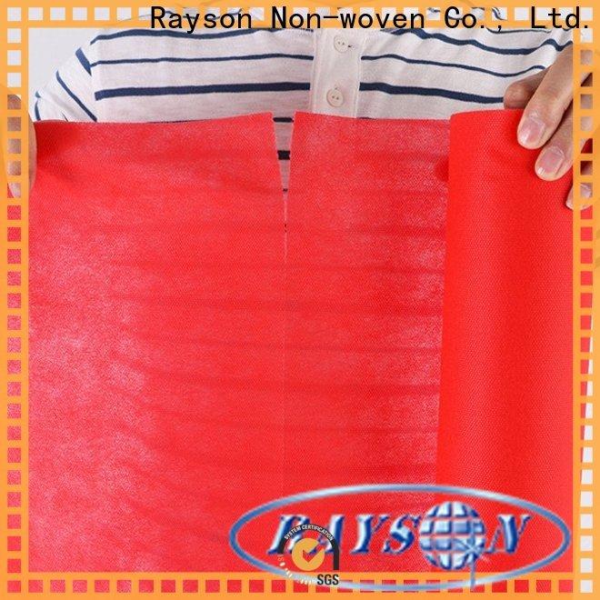 rayson nonwoven Bulk buy polka dot pvc tablecloth company for outdoor