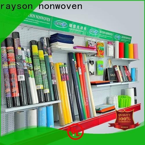 rayson محبوكة العديد من المناديل غير المنسوجة سبونليس بكميات كبيرة للفنادق