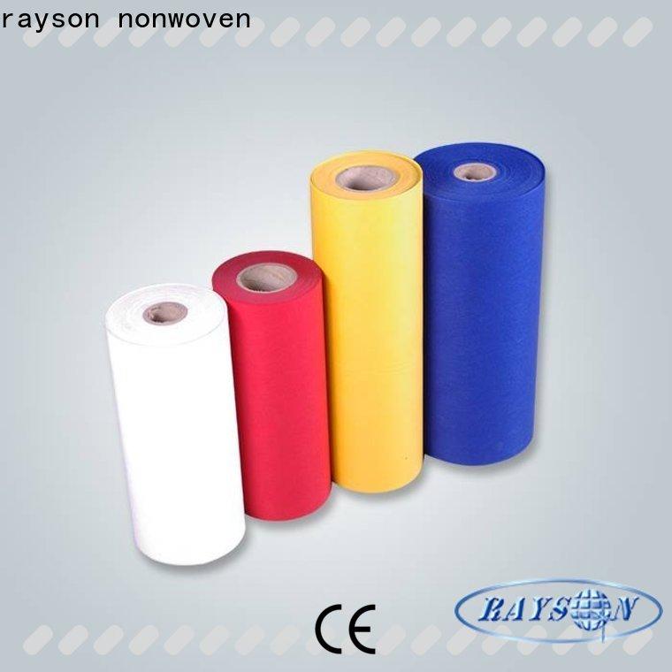 rayson مواد تنجيد عذراء غير منسوجة للكراسي بكميات كبيرة للفنادق