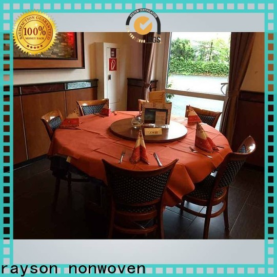 Rayons Vlies Bulk kaufen Tischdecke für Rundtisch Hersteller für den Markt