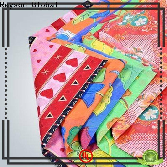 rayson لفافات أقمشة غير منسوجة مختلفة مطبوعة بكميات كبيرة للفراش