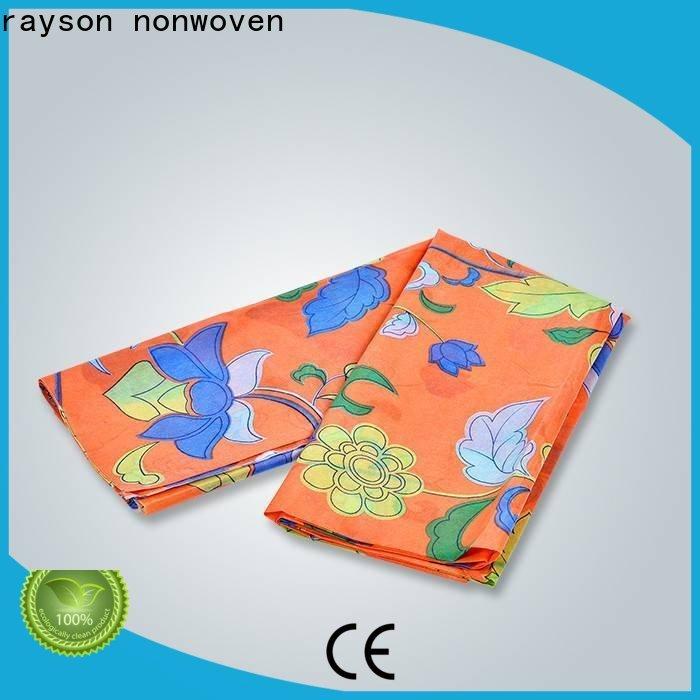rayson nonwoven Bulk purchase spunlace nonwoven fabric suppliers company for covers