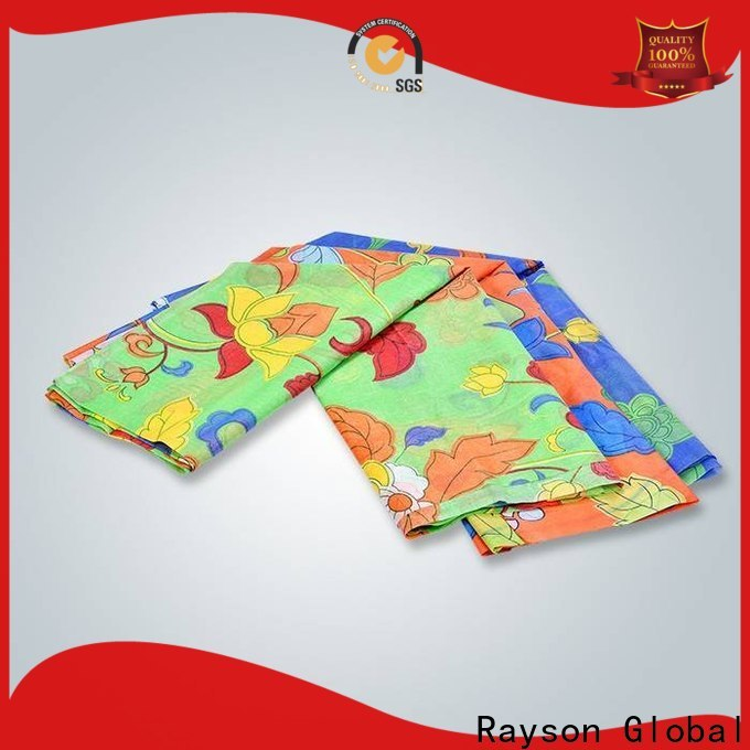 rayson nonwoven Custom digital printing on non woven fabric factory for bedding
