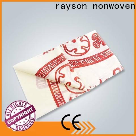 طاولة rayson محبوكة OEM المطبوعة يلقي مصنع للمنزل