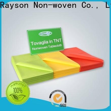 rayson محبوكة مصنع مواد النسيج oem