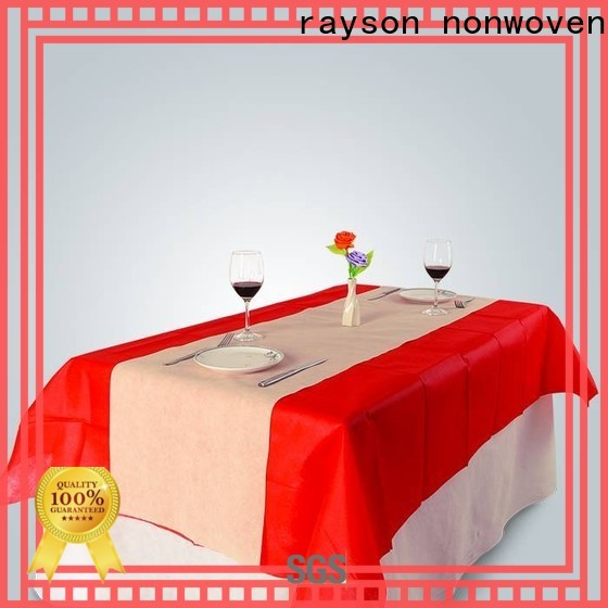 rayson غير المنسوجة شراء بالجملة سعر لفة غير المنسوجة