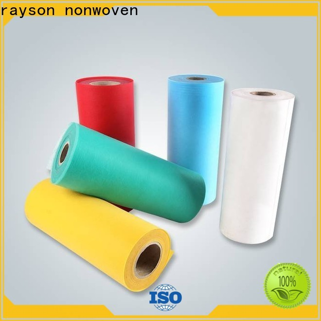 rayson محبوكة بالجملة شراء الشركة المصنعة للورق غير المنسوج