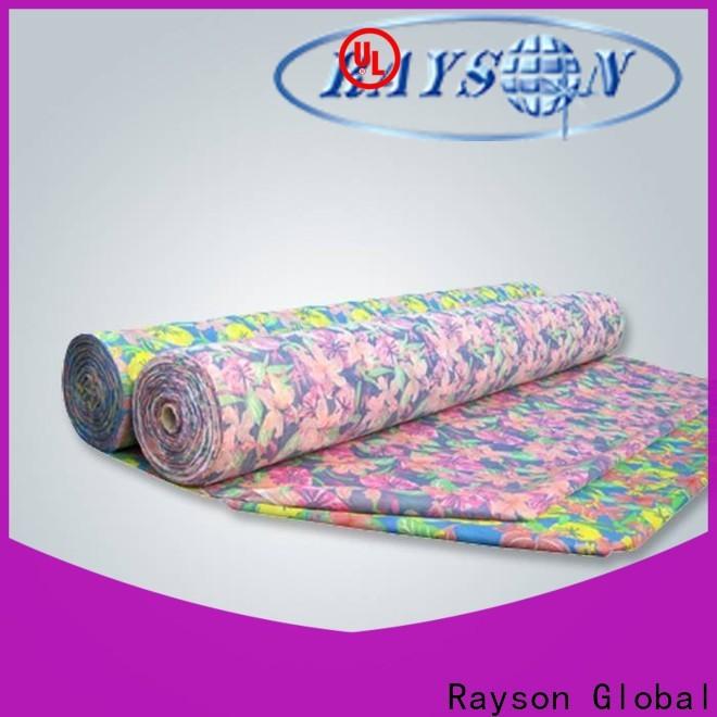 Rayson non tessuto Bulk acquista produttore di tovaglie usa e getta stampate personalizzate per la casa