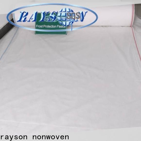 Rayons Vlies kontrollieren schwarzen Stoff, um Unkrauthersteller für den Außenbereich zu verhindern