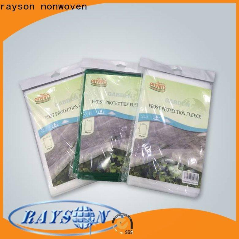 Rayson Vlies Eco Wide Unkrautbekämpfungsgewebe Hersteller für den Innenbereich