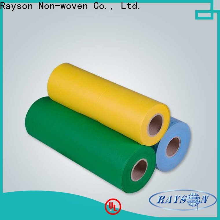 rayson nonwoven OEM spunlace nonwoven fabric manufacturer for covers