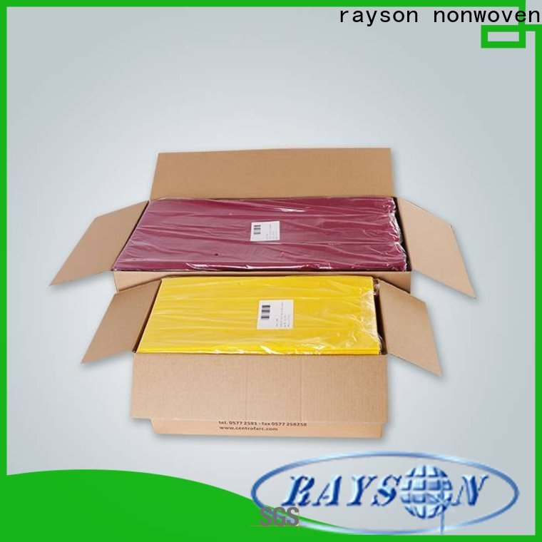 Rayson Vlies Stoff Tischdecken Fabrik