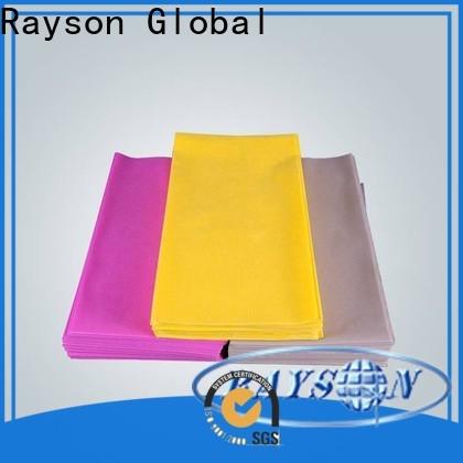 rayson مطعم غير منسوج مقاوم للماء مصنع نسيج مفرش المائدة