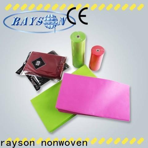 Rayson Vlies ODM Einweg Tischdecken Firma