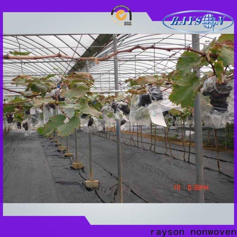 Rayons Vlies Custom Spun Bonded Polyester Landschaftsstoff in loser Schüttung für den Außenbereich