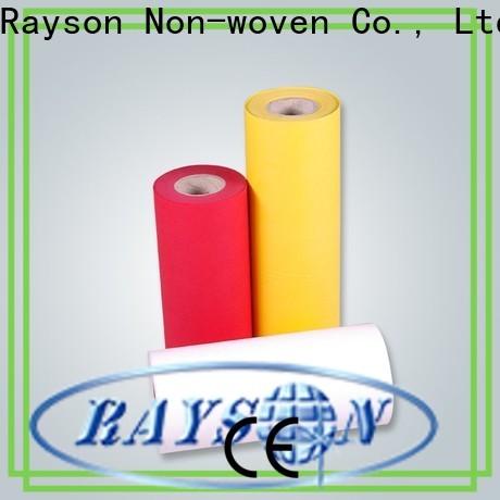 precio de la máquina que hace la tela no tejida no tejida del OEM del rayson