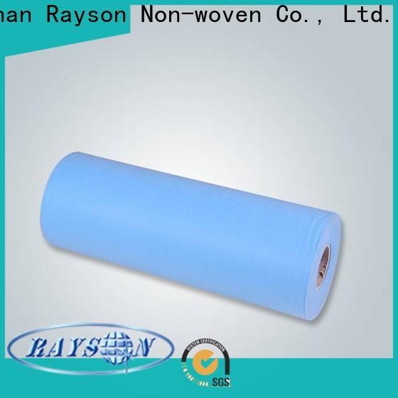 رايسون غير منسوج بالجملة شراء مصنع أقمشة غير منسوجة من البولي بروبيلين