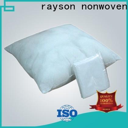 rayson محبوكة بالجملة شراء OEM شركة الموردين غير المنسوجة لفات منزلية