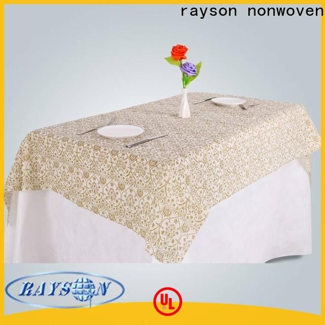 Rayson غير المنسوجة لينين القماش المزود