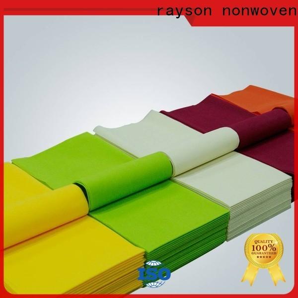 رايسون مصنع مفرش المائدة الأخضر Rayson ODM
