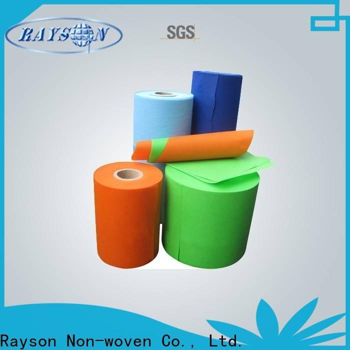 Rayson Vöser Großhandel OEM Kain Polypropylen Spunbond Stoff Company
