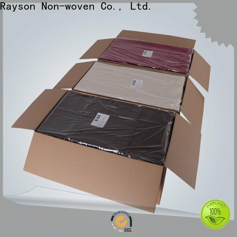 Rayson Nonwoven المجهزة الجدول المتاح يغطي الشركة