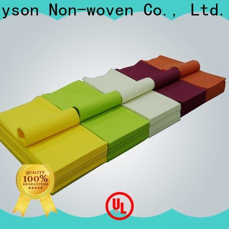 Rayson odm غير المنسوجة المتاح عيد الميلاد مفارش المائدة السعر