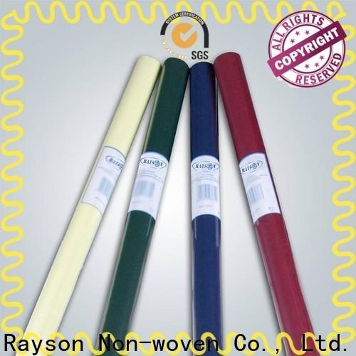 Rayson Vlies-Bulk-Kauf Beste nicht gewebt roter Einweg-Tischdecke Lieferant